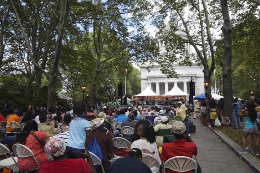 Concert at US Grant National Memorial Park, Harlem Week
