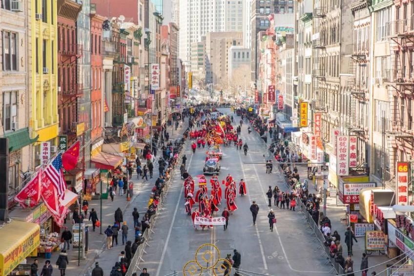 Lunar New Year Parade & Festival in Manhattan's Chinatown