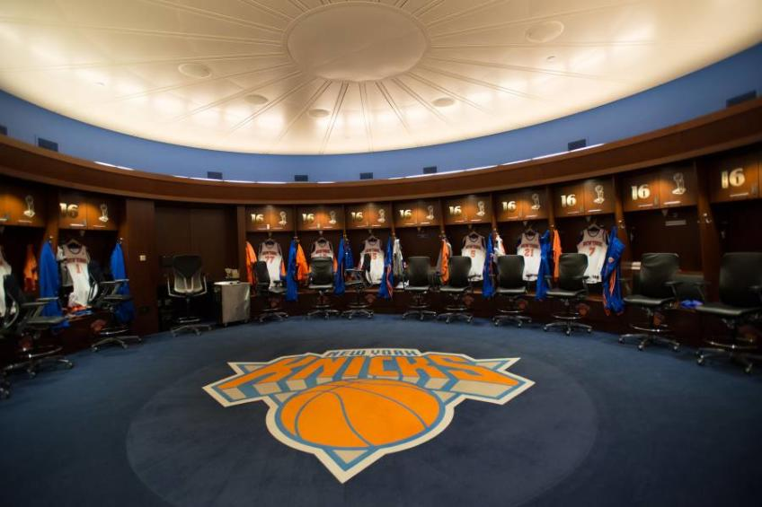 New York Knicks Locker Room