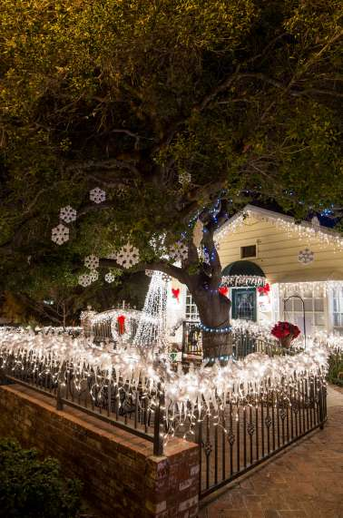 Christmas Lights Villa Di Calabro