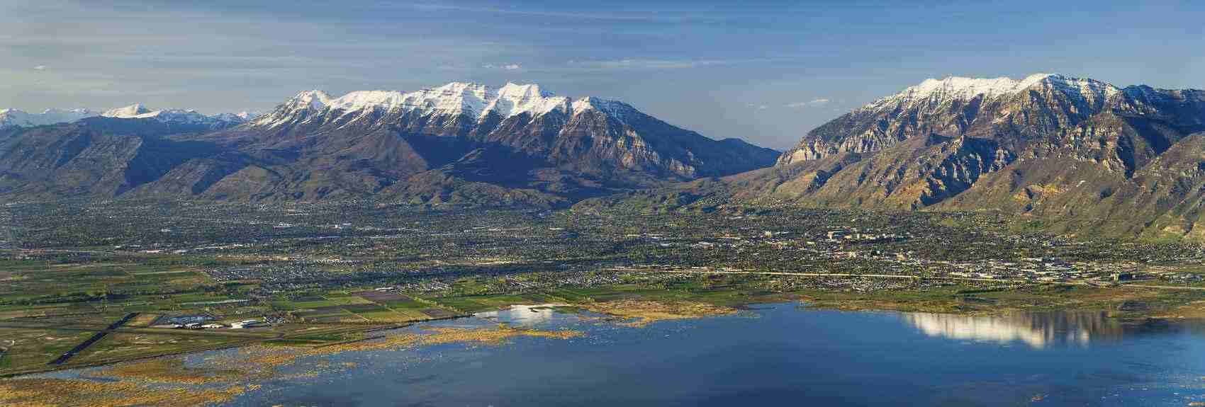 Utah Valley wide view