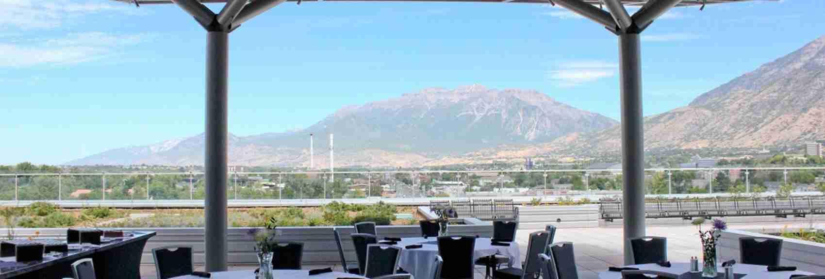 Utah Valley Convention Center Terrace