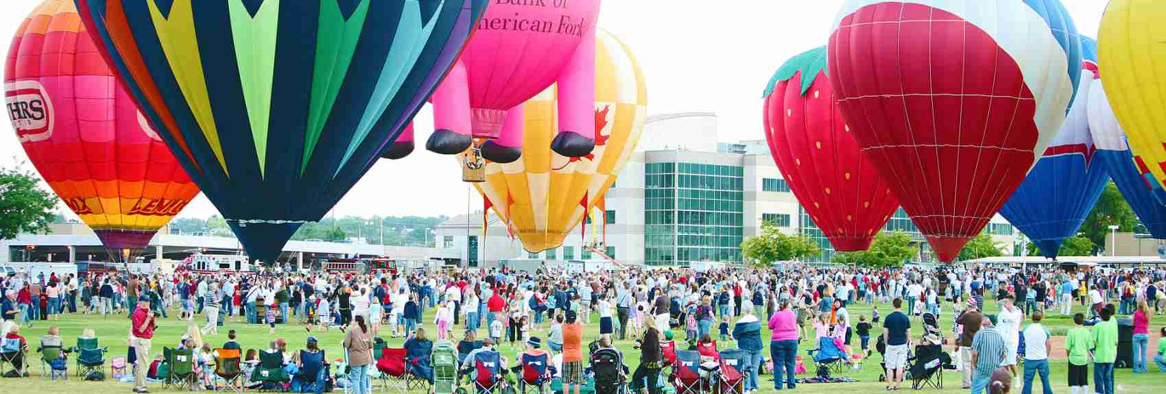 Utah Valley Hot Air balloons