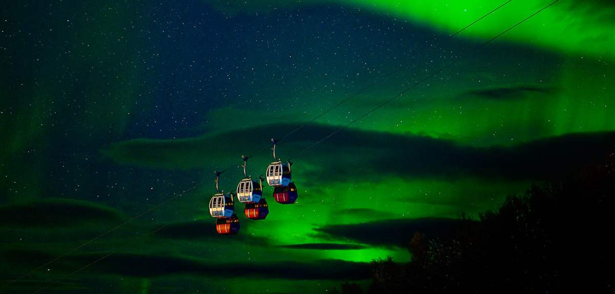 Northern Lights Offers Official Norway Travel Guide - Norway map northern lights