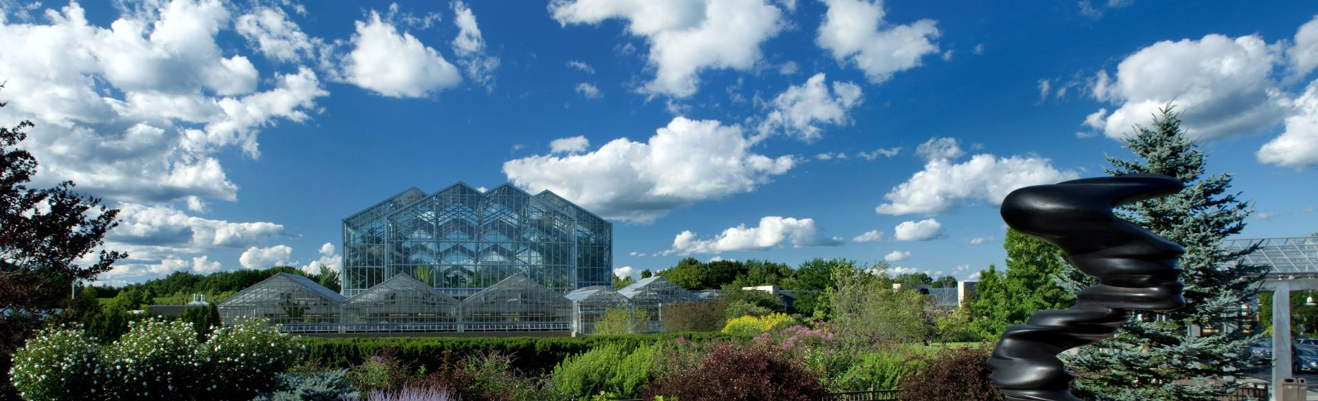 Frederik Meijer Gardens & Sculpture Park Exterior of Conservatory