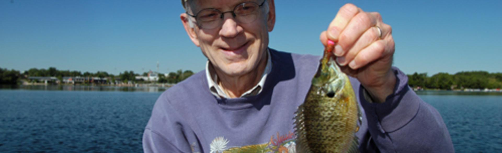Fishing Bluegill
