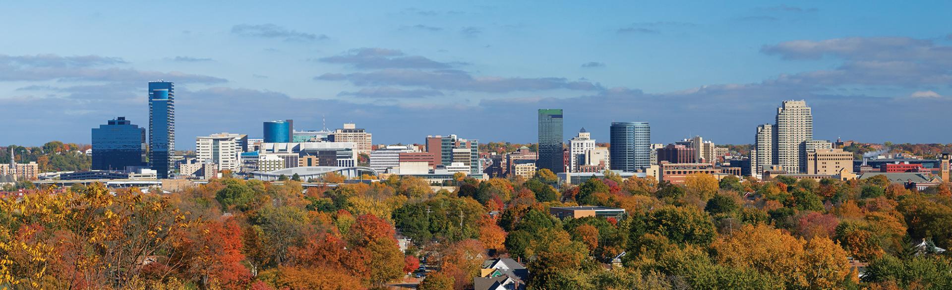 Grand Rapids Skyline - Fall