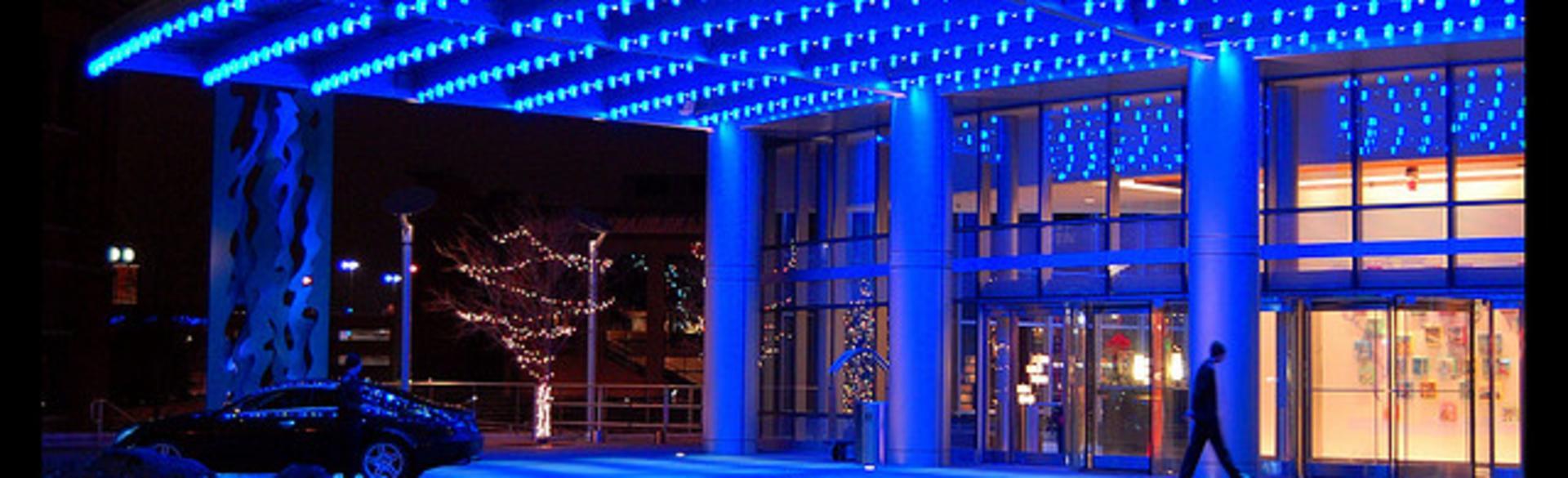 JW Marriott Entrance