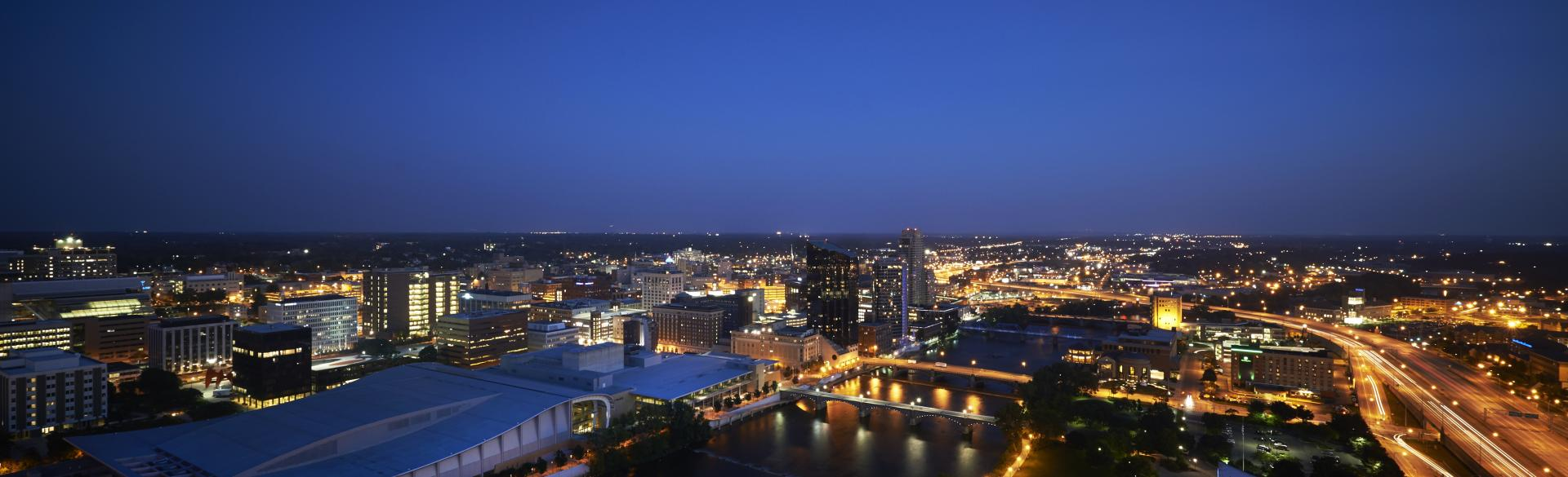 Grand Rapids at Night