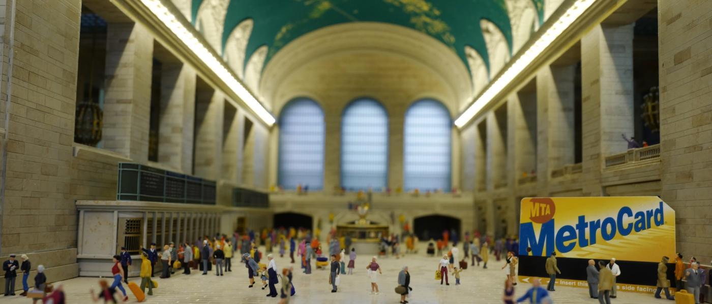 Gullivers Gate, interior, Grand Central Station Replica