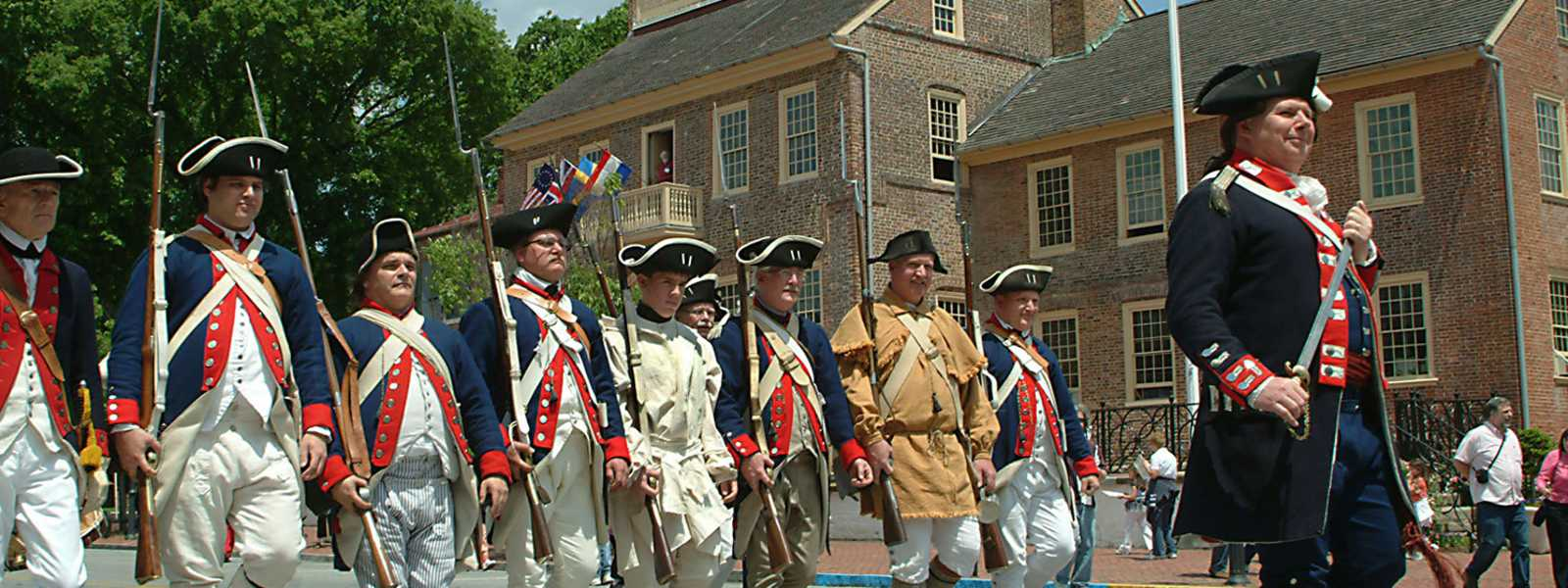 New Castle, Delaware Separation Day Parade