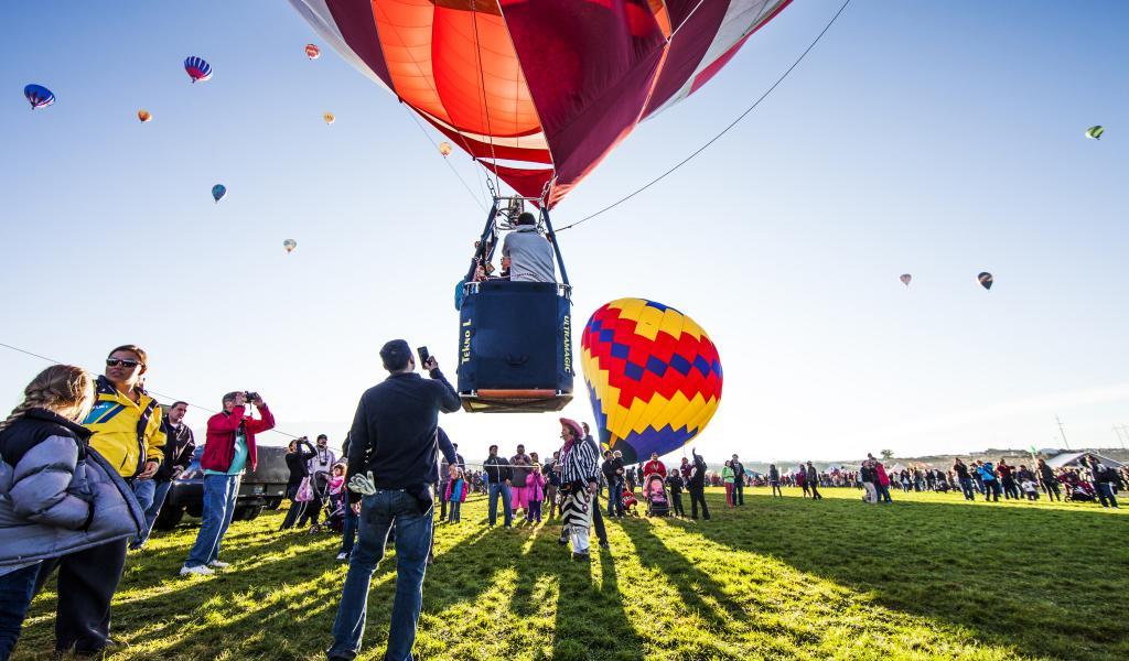 Albuquerque balloon festival visit albuquerque