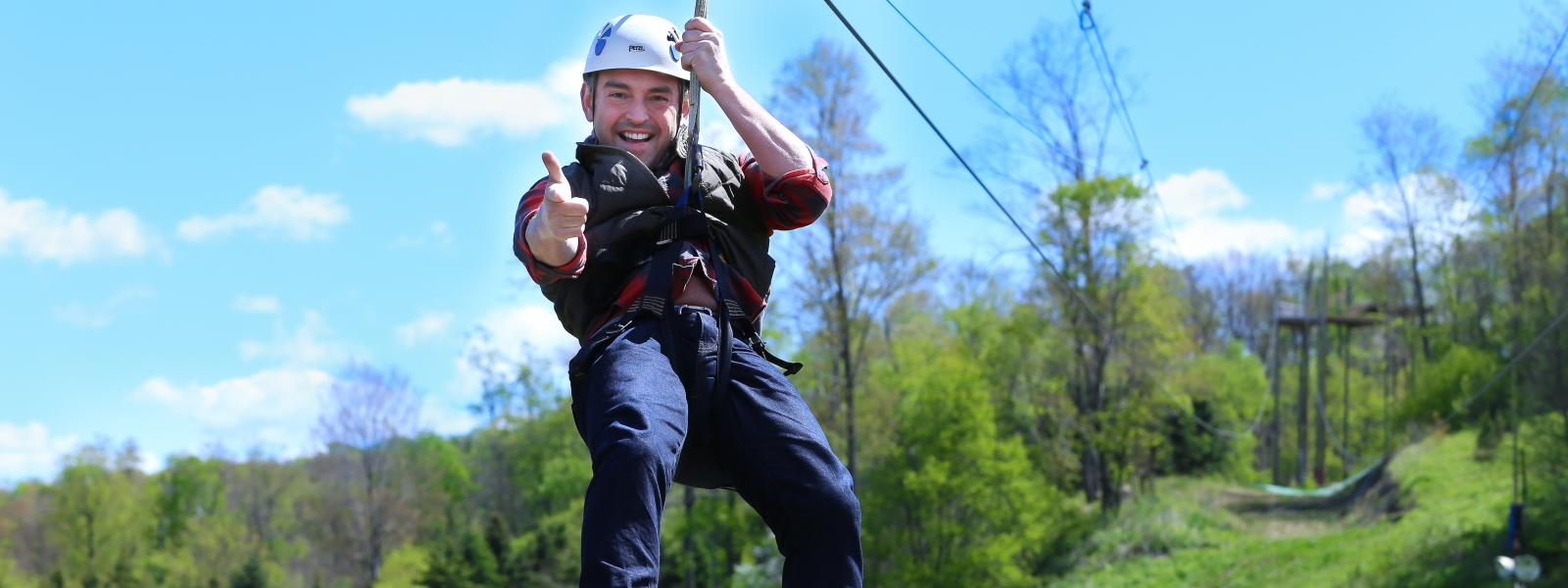 Ziplining Tours & Adventure Courses in Laurel Highlands, PA