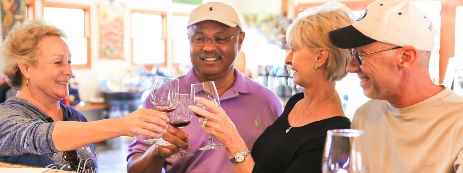 Wine Tasting at Harmony Cellars