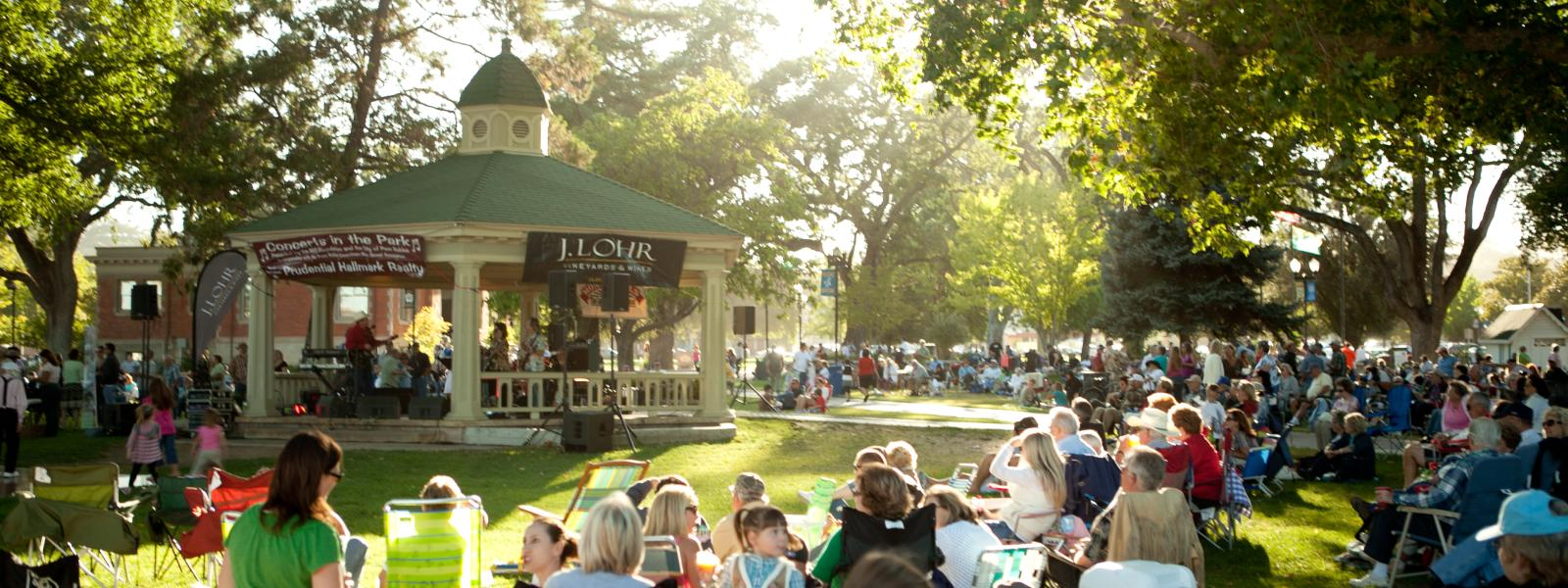 Concerts in the Downtown Park
