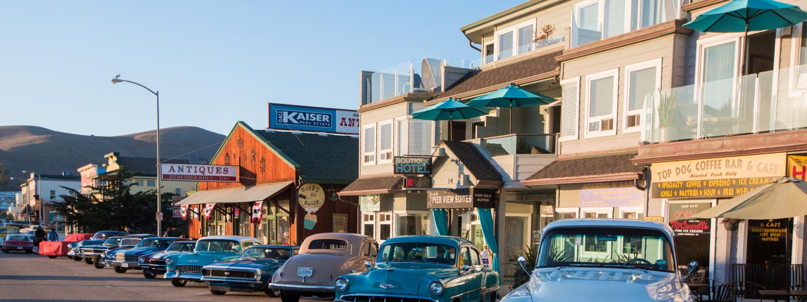 Cayucos Downtown