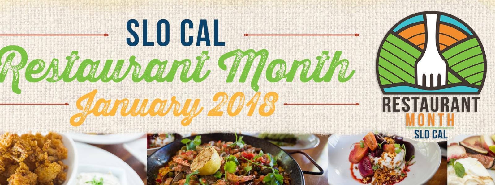 SLO CAL Restaurant Month