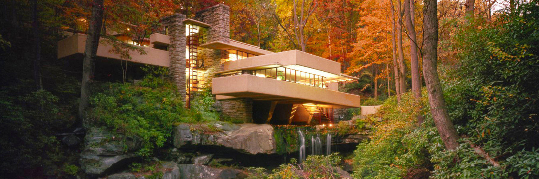 Pictures of falling waters house