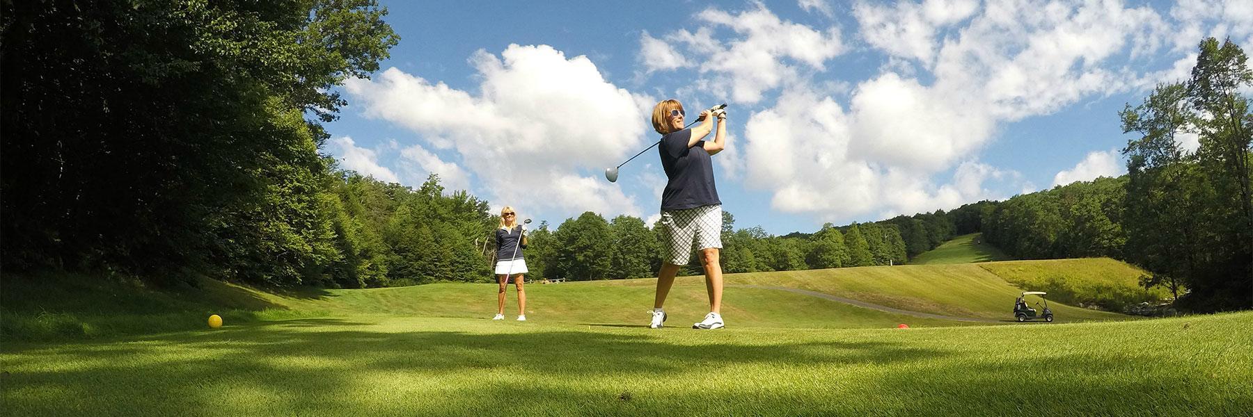 Golf Page Header
