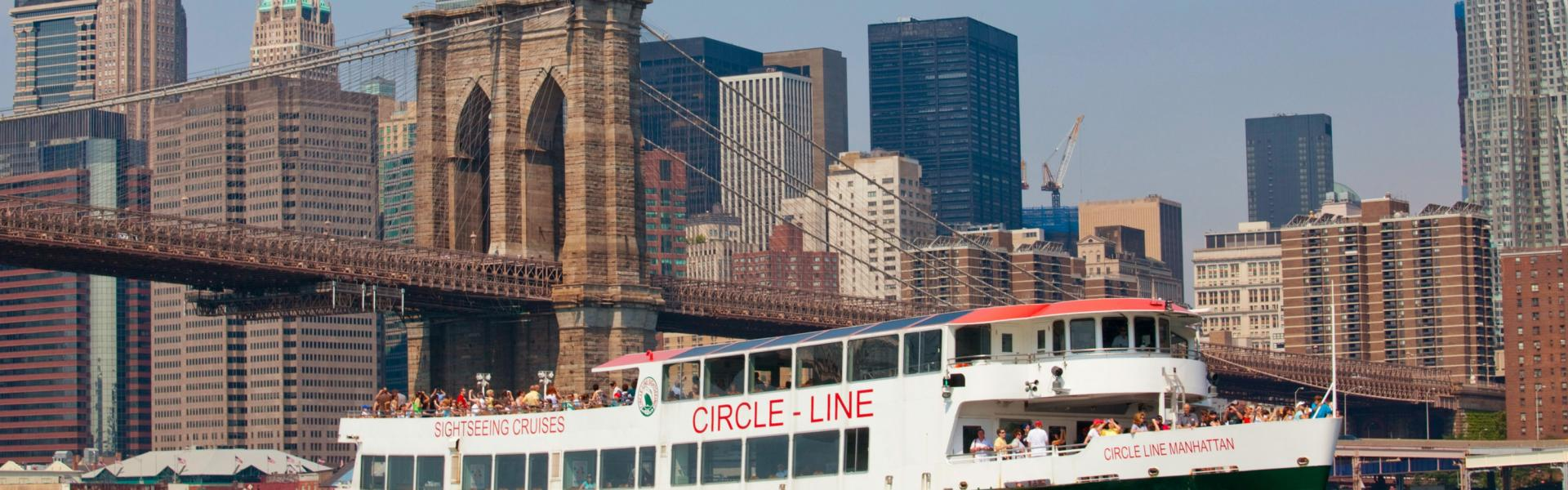 Circle Line, Brooklyn, Bridge, NYC