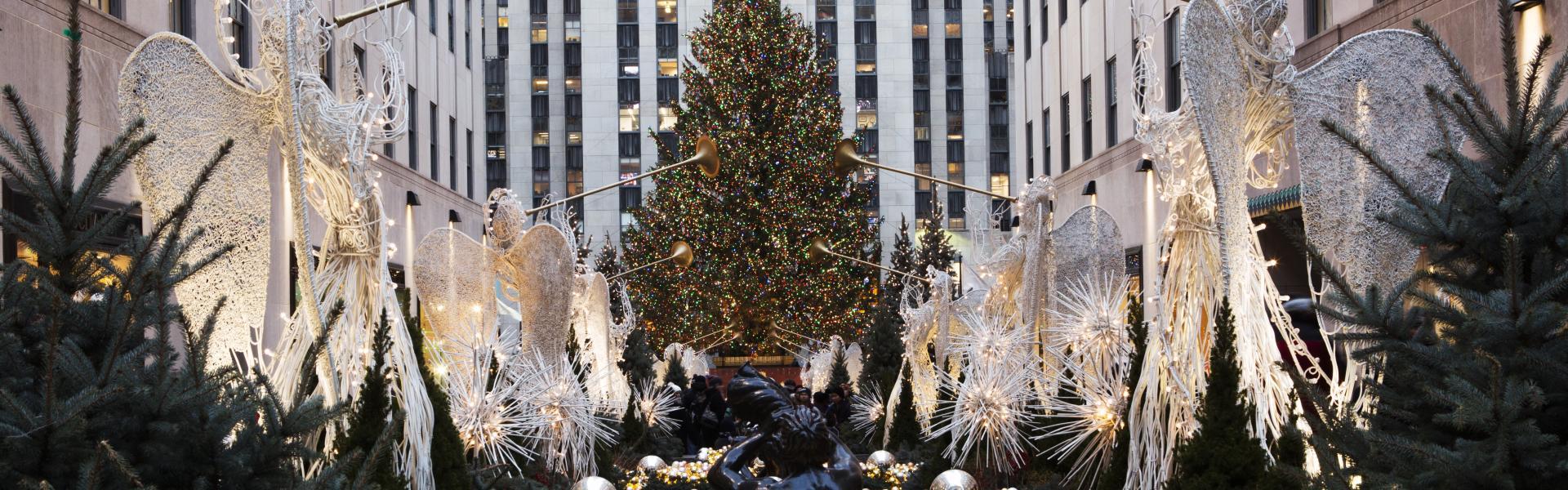 Rockefeller Christmas Tree, Ice Skating, Rockefeller Center, Midtown, NYC, Jen Davis