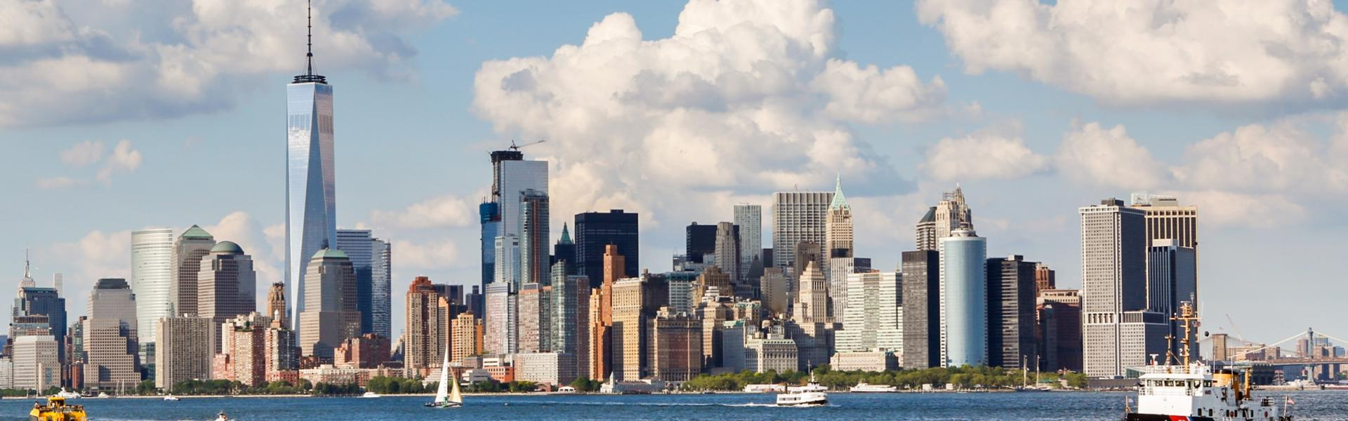 Lower Manhattan, Skyline, NYC,