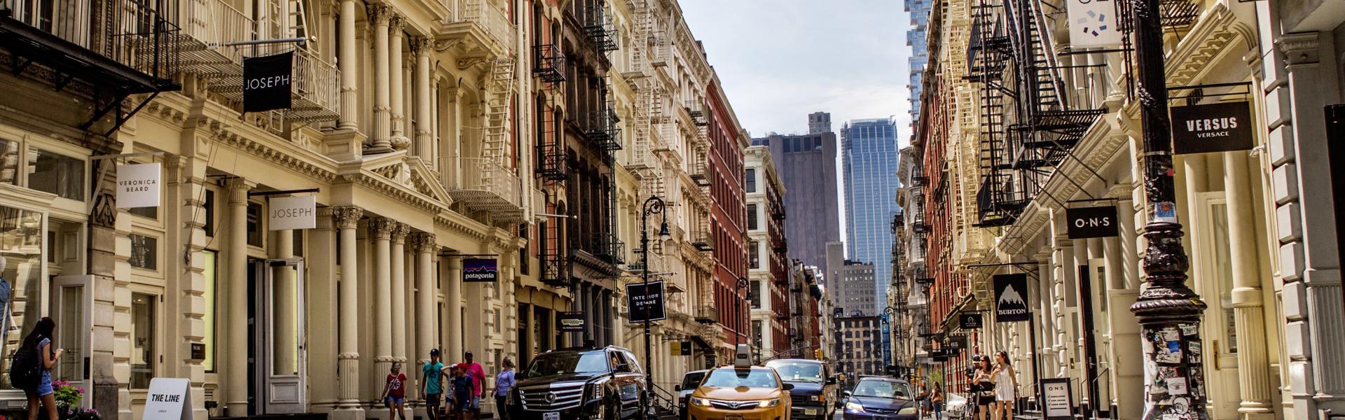 Soho, Street View, Taxi