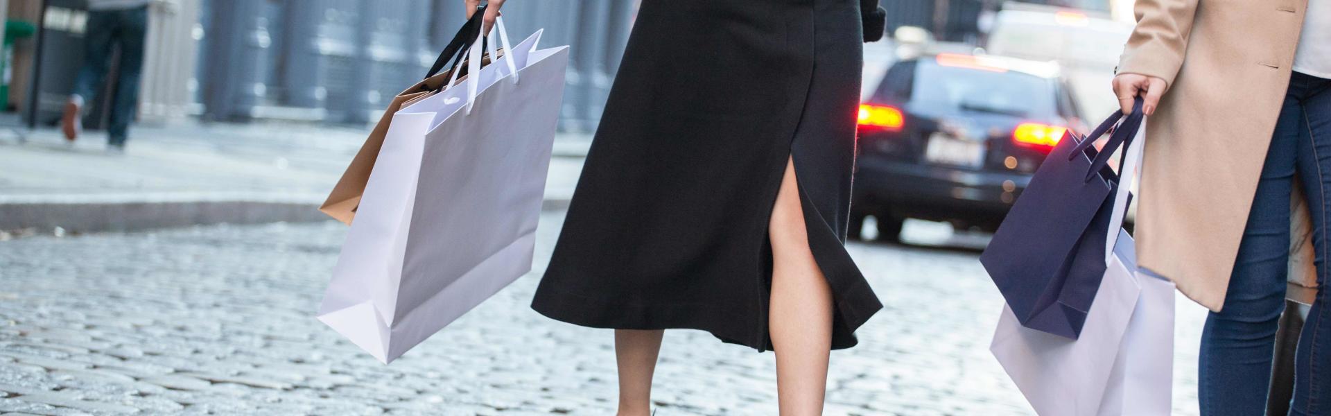 Soho Streets Shopping Bags