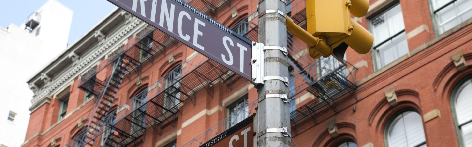 Prince Street, Mercer Street