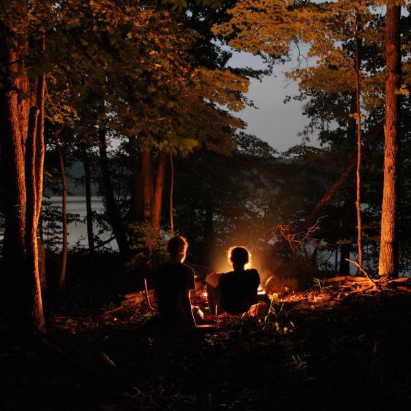 Camping in Deam Wilderness
