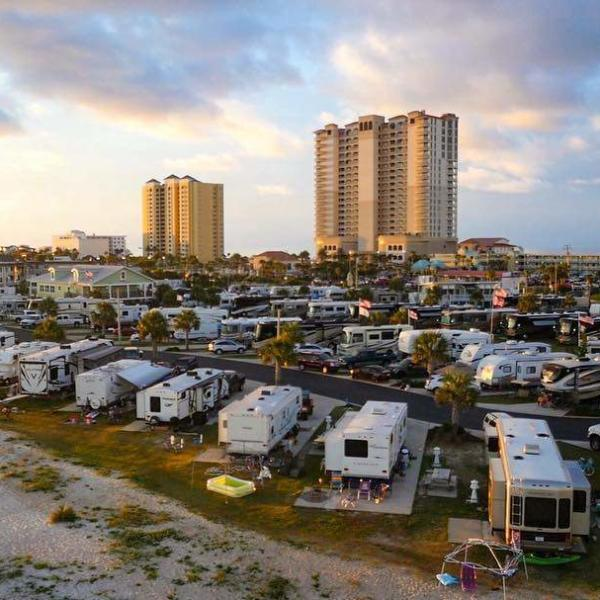 pcola beach rv resort