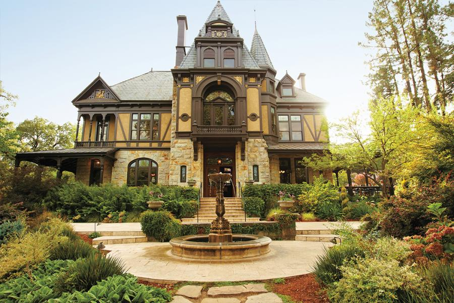 Not to worry just get yourself to the napa valley which is filled with some hidden architectural treasures that
