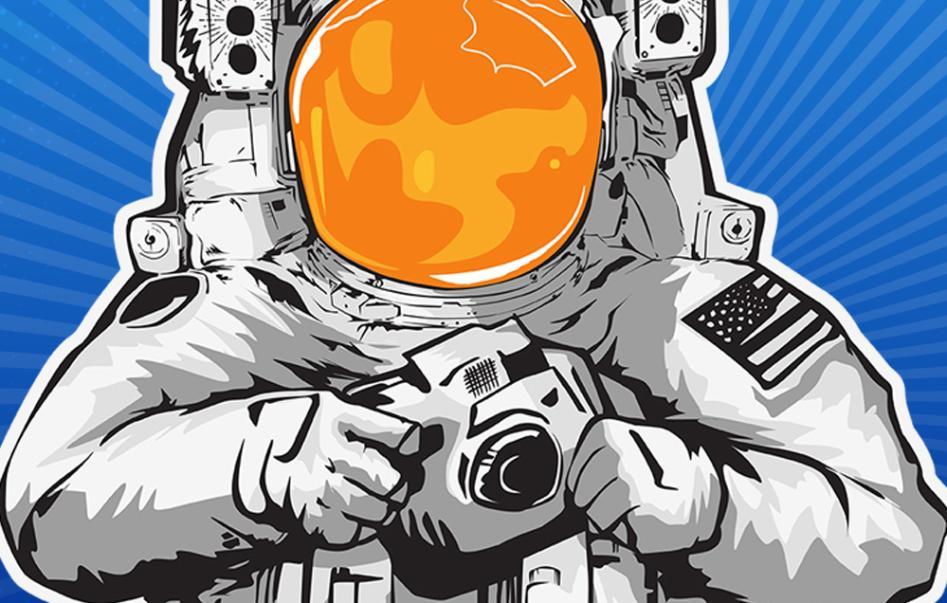 Photo Ops Astronaut