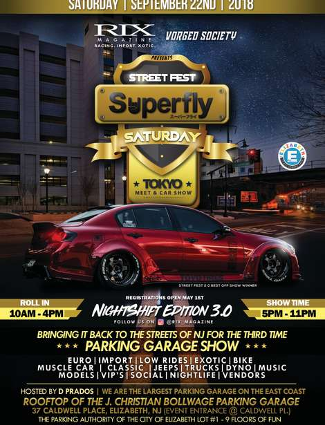 Superfly Flyer Front