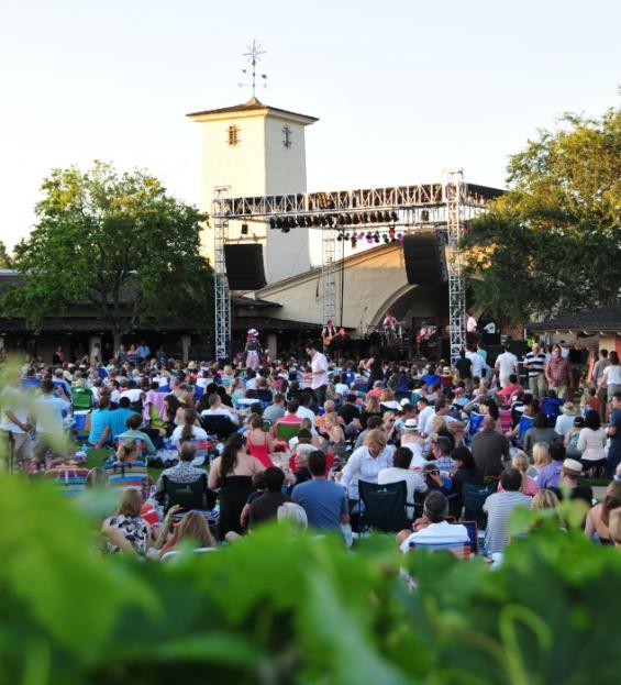 Outdoor Concerts Robert Mondavi