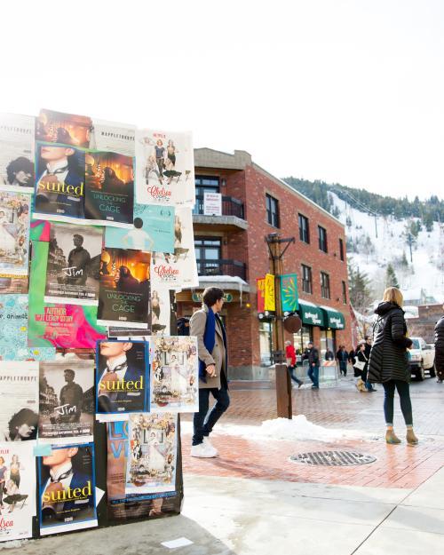 Sundance Film Posters on Main Street