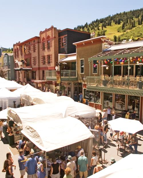 Kimball Arts Festival on Historic Main Street