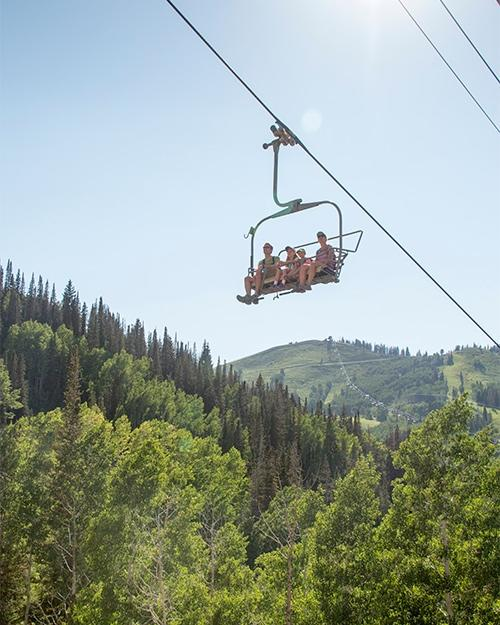 Deer Valley Resort Summer Chairlift Rides