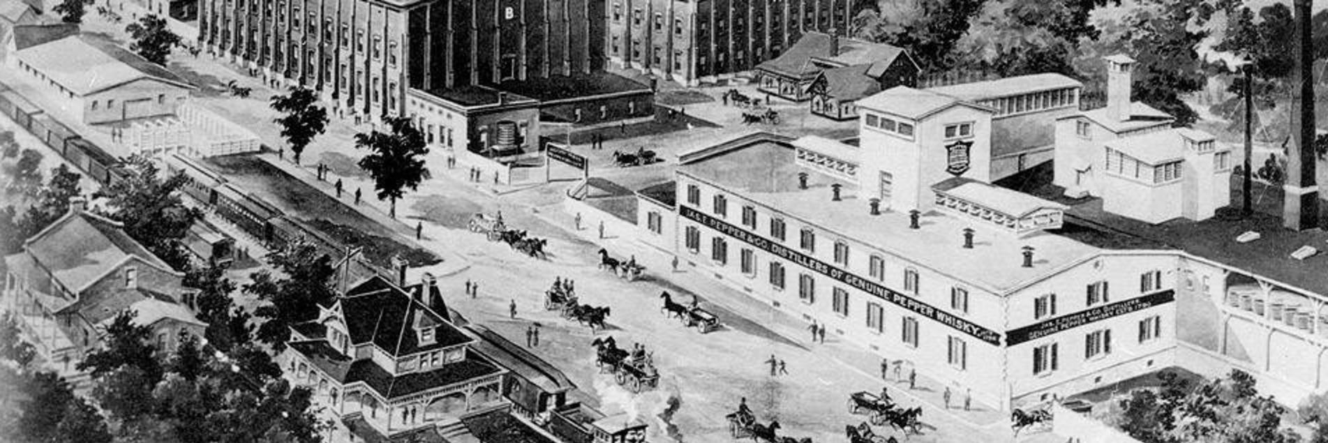 Bourbon history bourbon distilleries lexington ky for Central motors lexington ky
