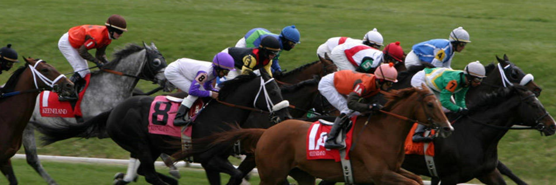 Racing at Keeneland