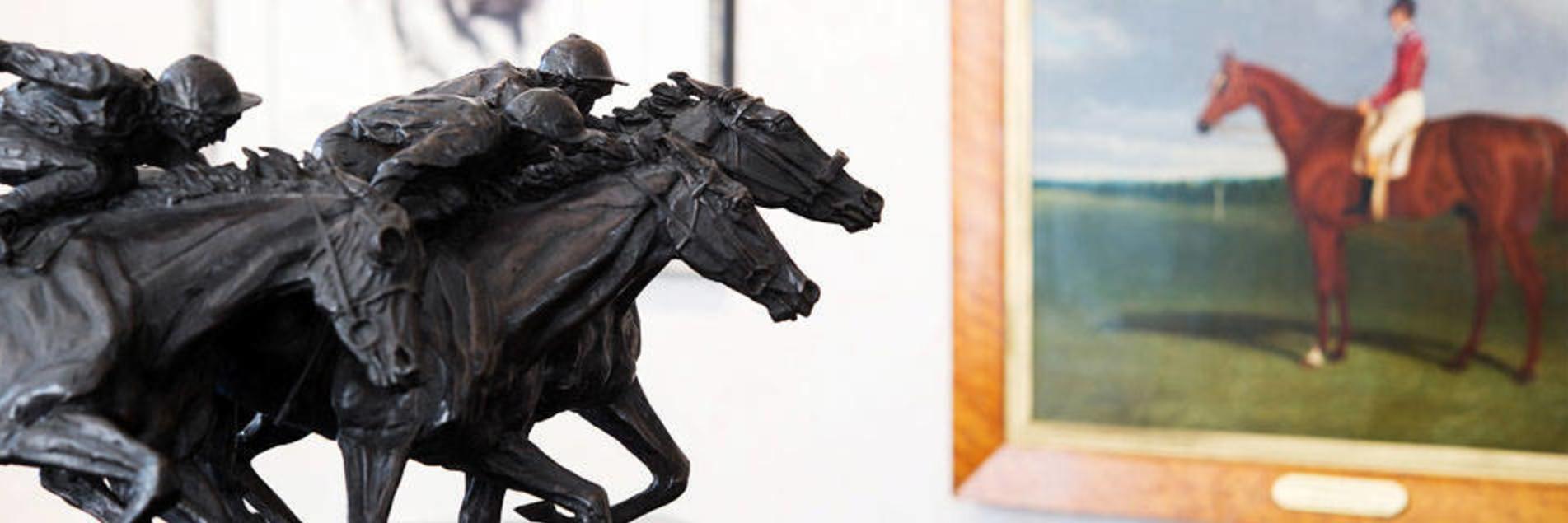 Horses Statue