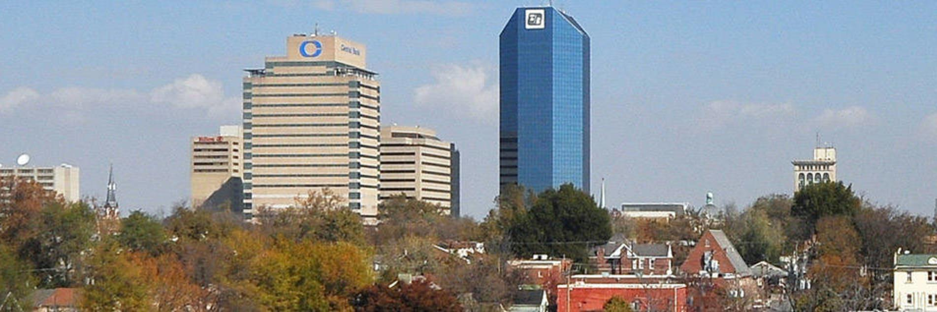 Lexington Skyline from the South