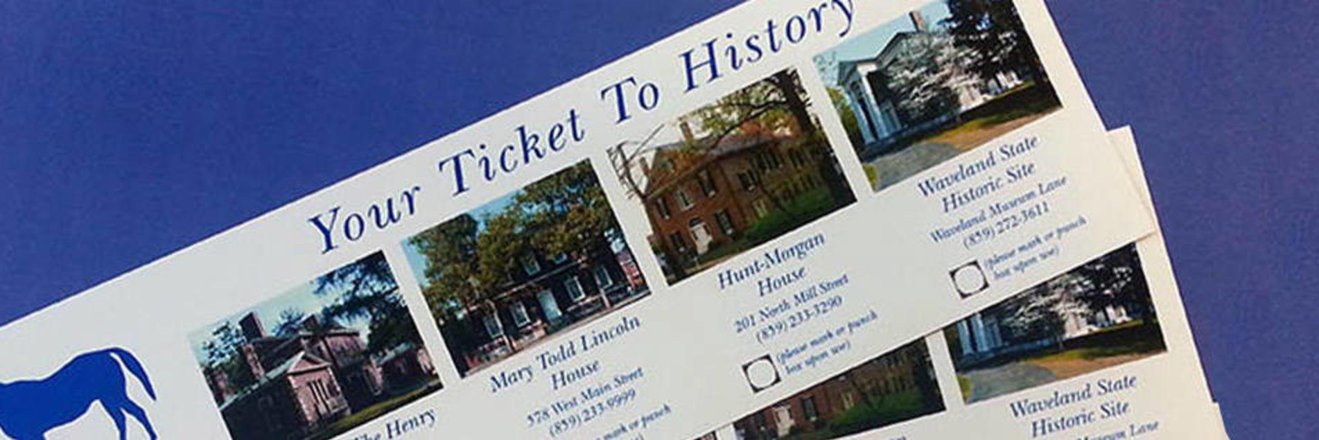Ticket to History