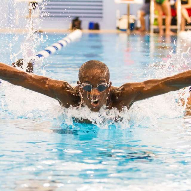 Swimming Sports Aquatic Center