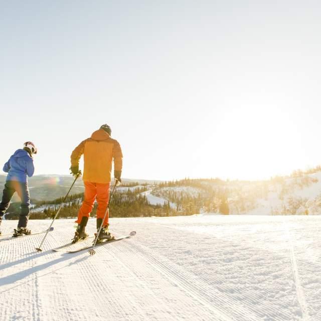 Funny days skiing in Ål in Hallingdal