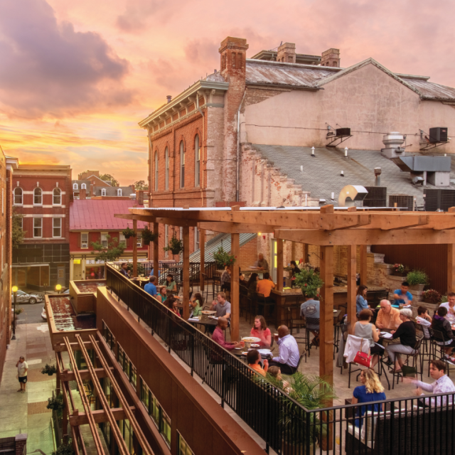 Brewer's Alley Rooftop Bar