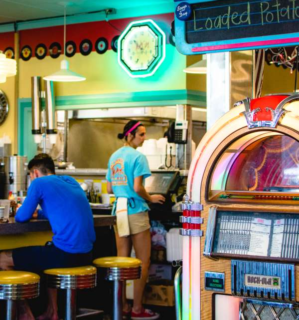 Hub City Diner Jukebox
