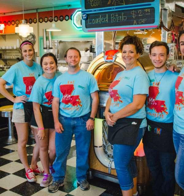 Hub City Diner Staff