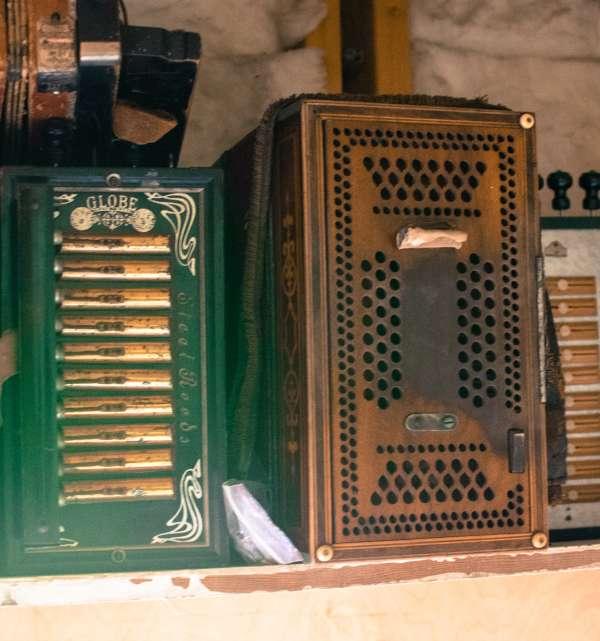 Antique Accordions