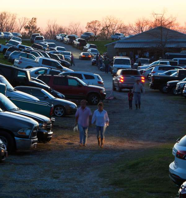 Whiskey River Parking Lot